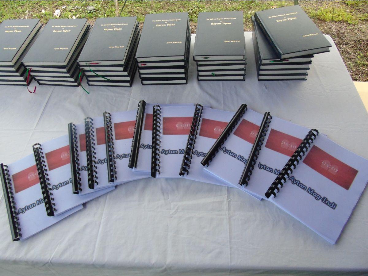 Ayta Mag-indi NTs and copies of Genesis